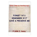 US Constitution B-Day  Postcards (Package of 8)