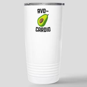 Avo-Cardio Avocad 16 oz Stainless Steel Travel Mug