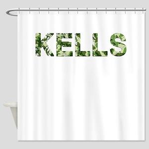 Kells, Vintage Camo, Shower Curtain