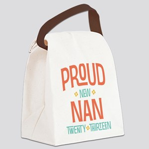 Proud New Nan 2013 Canvas Lunch Bag
