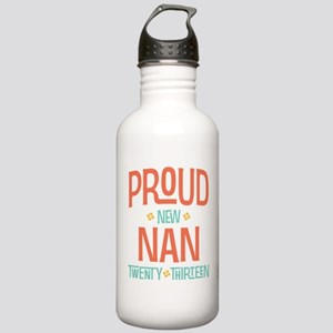Proud New Nan 2013 Stainless Water Bottle 1.0L