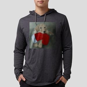 christmas-lab-tote Mens Hooded Shirt