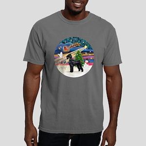 Xmas Magic - Giant Schna Mens Comfort Colors Shirt