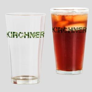 Kirchner, Vintage Camo, Drinking Glass