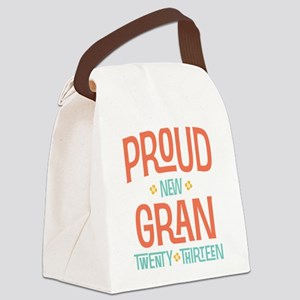Proud New Gran 2013 Canvas Lunch Bag