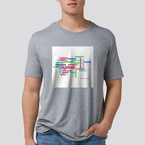 Dyslexia Means Creative Mens Tri-blend T-Shirt