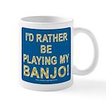Playing Banjo Mug