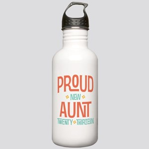 Proud New Aunt 2013 Stainless Water Bottle 1.0L