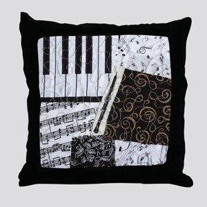 Oboe Throw Pillow