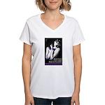 Bound to the Billionaire Women's V-Neck T-Shirt