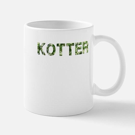 Kotter, Vintage Camo, Mug