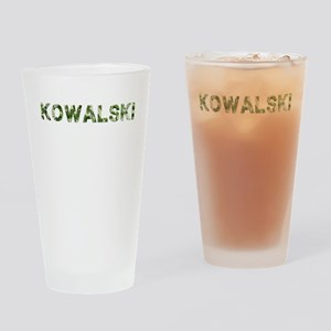 Kowalski, Vintage Camo, Drinking Glass
