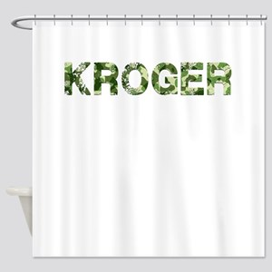 Kroger, Vintage Camo, Shower Curtain
