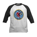 USS CAMP Kids Baseball Jersey