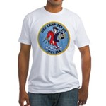 USS CAMP Fitted T-Shirt