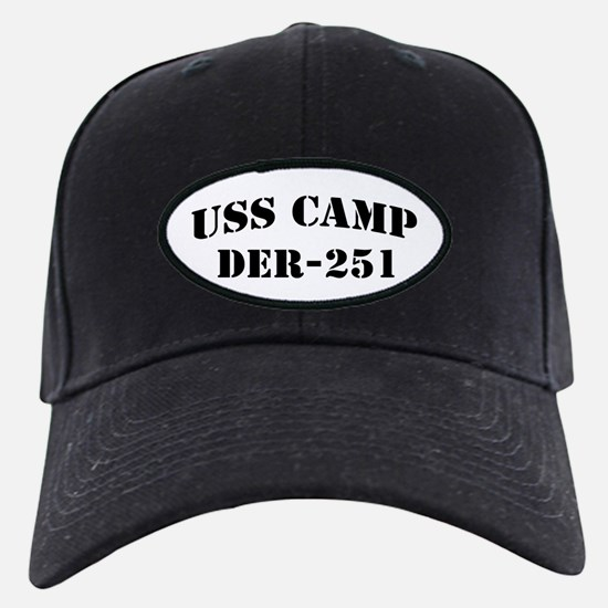 USS CAMP Baseball Hat