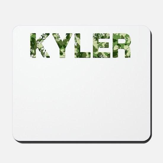 Kyler, Vintage Camo, Mousepad