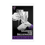 Sharing the Billionaire Sticker (Rectangle)
