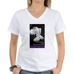 Sharing the Billionaire Women's V-Neck T-Shirt