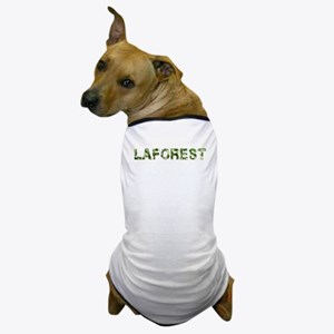 Laforest, Vintage Camo, Dog T-Shirt