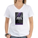 Promoted by the Billionaire Women's V-Neck T-Shirt