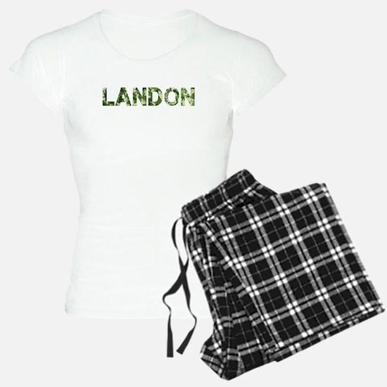 Landon, Vintage Camo, Pajamas