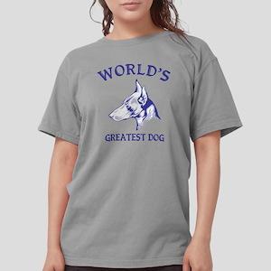 Manchester TerrierH.pn Womens Comfort Colors Shirt