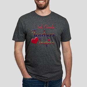Teachers Inspire 3rd  Mens Tri-blend T-Shirt
