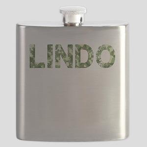 Lindo, Vintage Camo, Flask