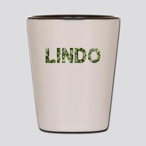 Lindo, Vintage Camo, Shot Glass