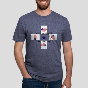 LOVE SYNCHRONISED SWIMMING  Mens Tri-blend T-Shirt