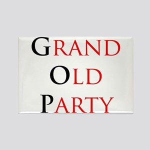 Grand Old Party (GOP) Rectangle Magnet