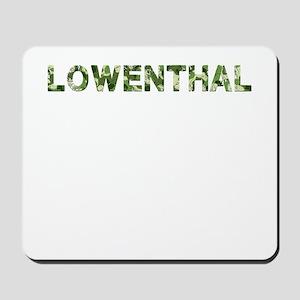 Lowenthal, Vintage Camo, Mousepad