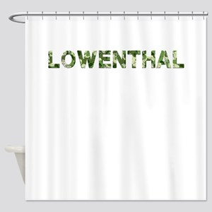 Lowenthal, Vintage Camo, Shower Curtain