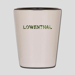 Lowenthal, Vintage Camo, Shot Glass