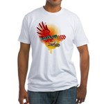 Surfs up teeshirts - surfing and beach wear Fitted