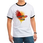 Surfs up teeshirts - surfing and beach wear Ringer