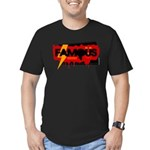 Famous Men's Fitted T-Shirt (dark)