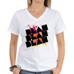 blah blah blah Women's V-Neck T-Shirt