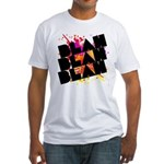 blah blah blah Fitted T-Shirt