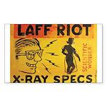 Xray Spex Laff Riot by Elliott Mattice Sticker (Re