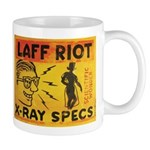 Xray Spex Laff Riot by Elliott Mattice Mug