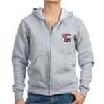 come as you are Women's Zip Hoodie