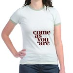 come as you are Jr. Ringer T-Shirt