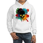 Colour skull design Hooded Sweatshirt