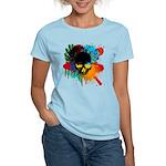 Colour skull design Women's Light T-Shirt