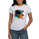 Colour skull design Women's T-Shirt