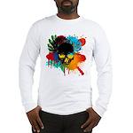 Colour skull design Long Sleeve T-Shirt