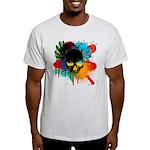 Colour skull design Light T-Shirt