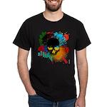 Colour skull design Dark T-Shirt